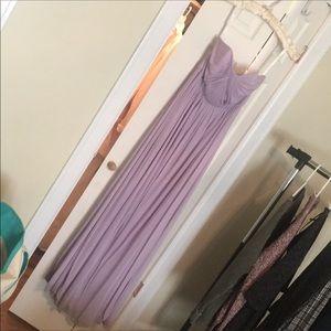 David's Bridal Iris Versa Bridesmaid Dress